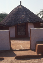 a village hut called Dhani in Rajasthan