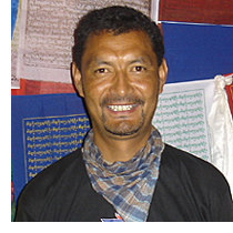 Tour and Trek Leader Nima Namgyal