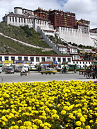 Potala Palace, Lhasa by photographer Lewis Kemper